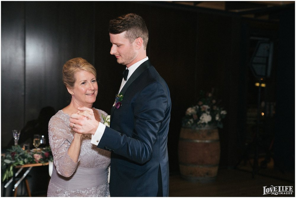 District Winery DC Wedding groom dancing with mother.jpg