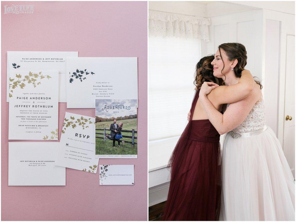 Briar Patch Inn Wedding invitation suite.jpg