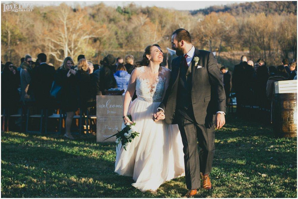Briar Patch Inn Wedding ceremony recessional.jpg