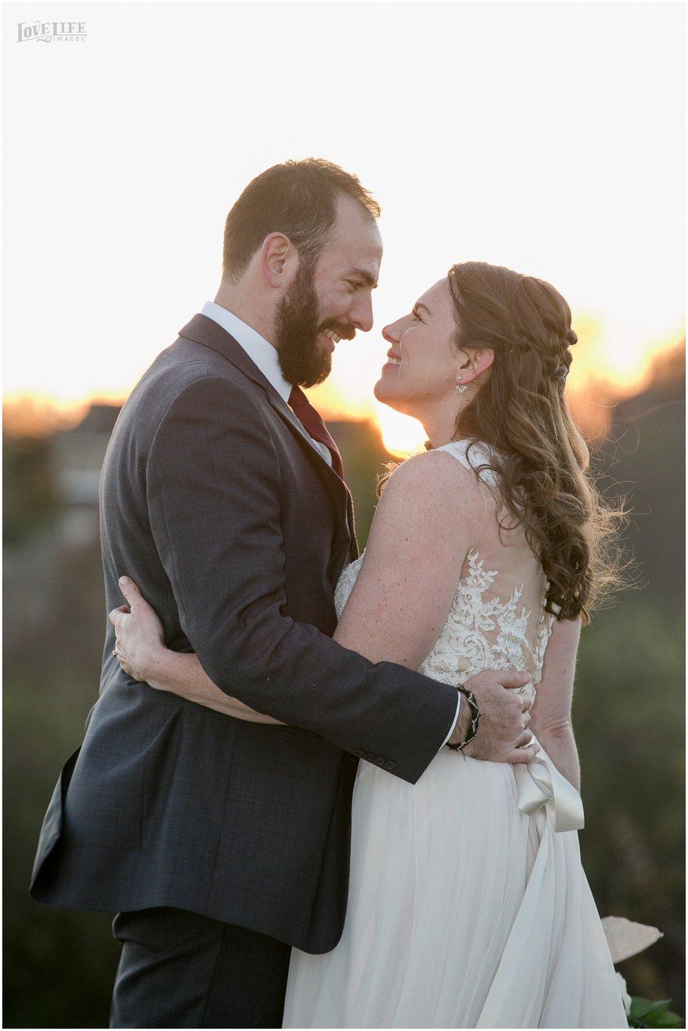 Briar Patch Inn Wedding sunset portrait.jpg