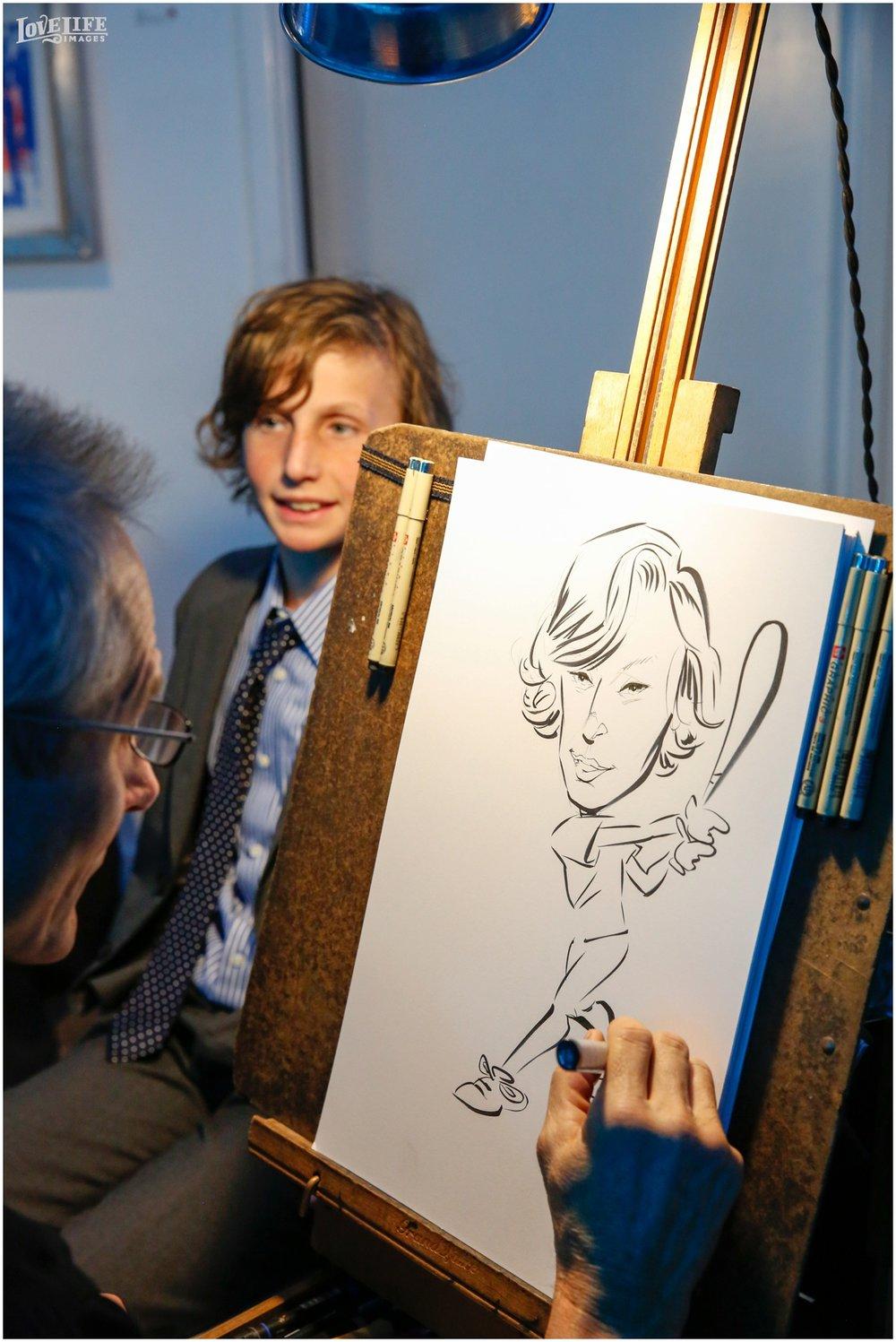 Longview Gallery Bar Mitzvah caricature artist.jpg