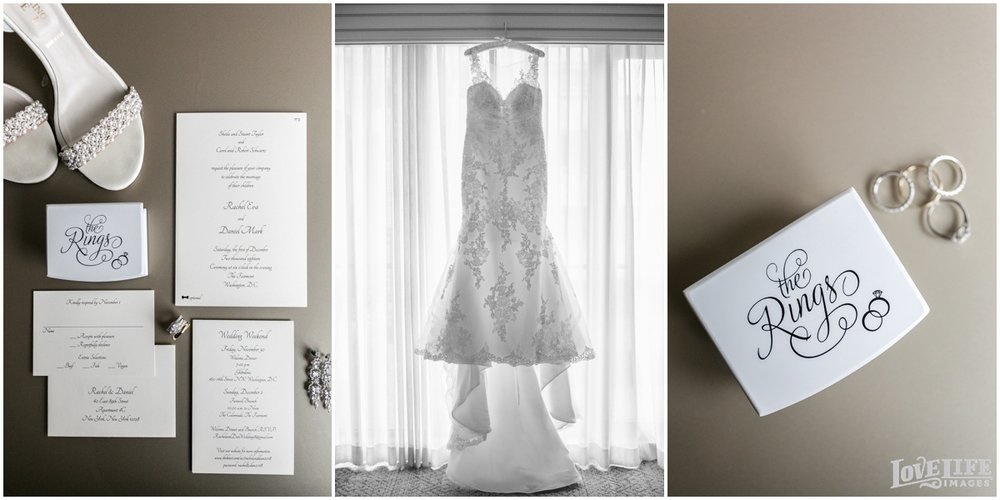 Fairmont DC Wedding invitation and gown.jpg