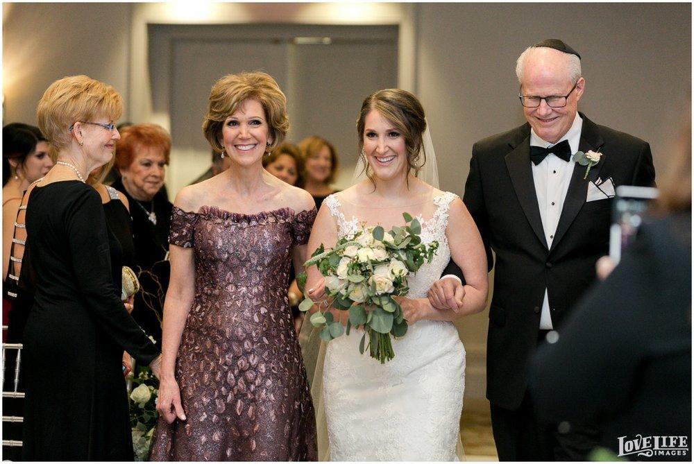 Fairmont DC Wedding bride processional.jpg