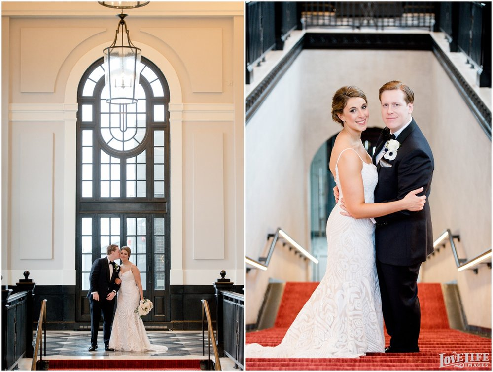 Peabody Library Baltimore Glam Wedding Sagamore Pendry portraits.jpg