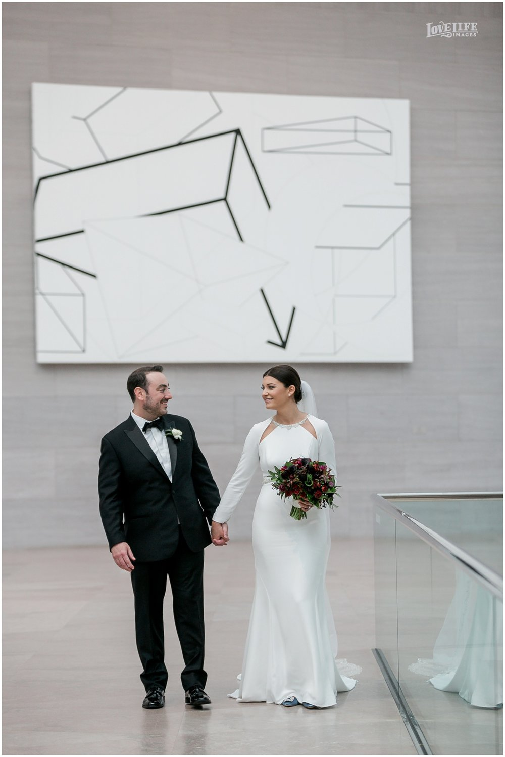 Winter District Winery Wedding portrait national gallery of art .JPG