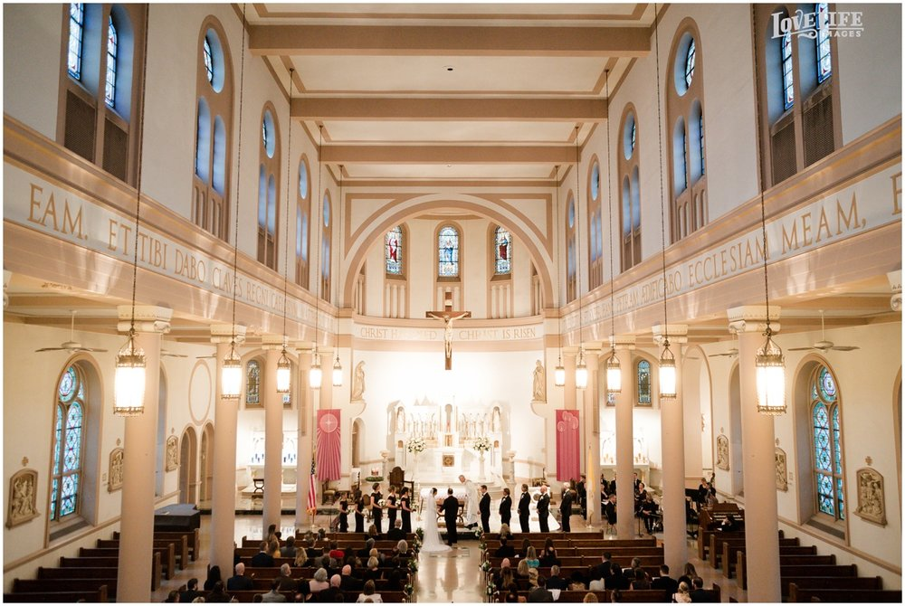 Winter District Winery Wedding saint peters catholic church ceremony.JPG