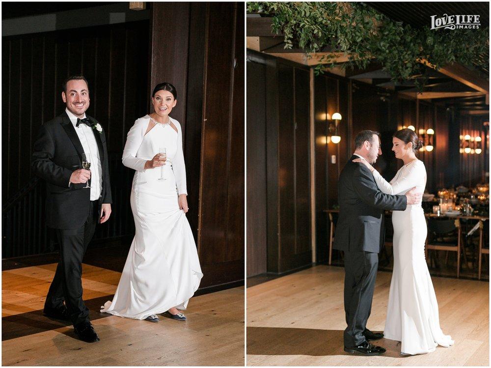 Winter District Winery Wedding bride groom dancing.JPG