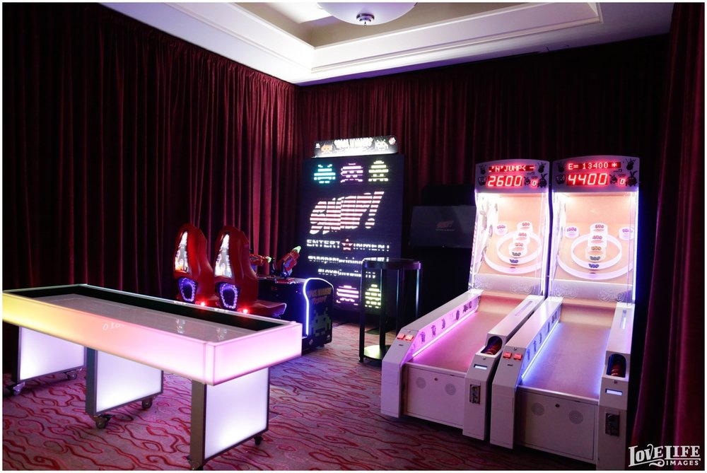 The Arcade provided by Snap Entertainment.