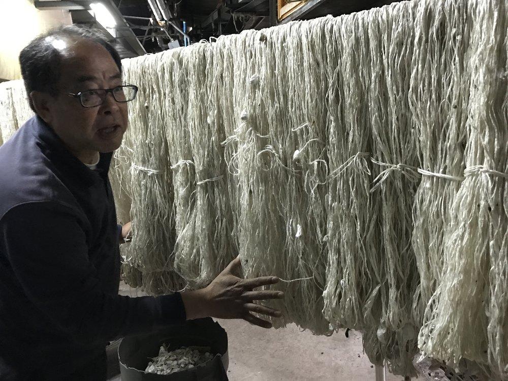Silk processing