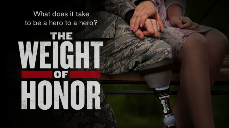 Poster for The Weight Of Honor - the veterans caregivers documentary - 2017 documentary