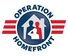 Operation Home Front - Operation Homefront's goal is to make sure military families have a place to live. provides great opportunities to volunteer locally and to run community fundraisers.