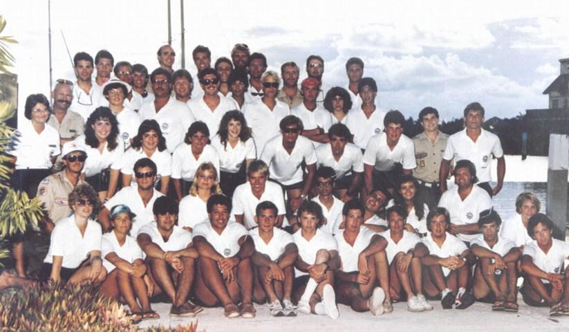1987 Summer Staff