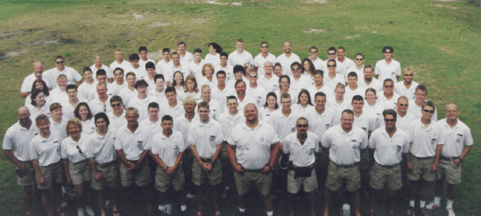 2001 Summer Staff