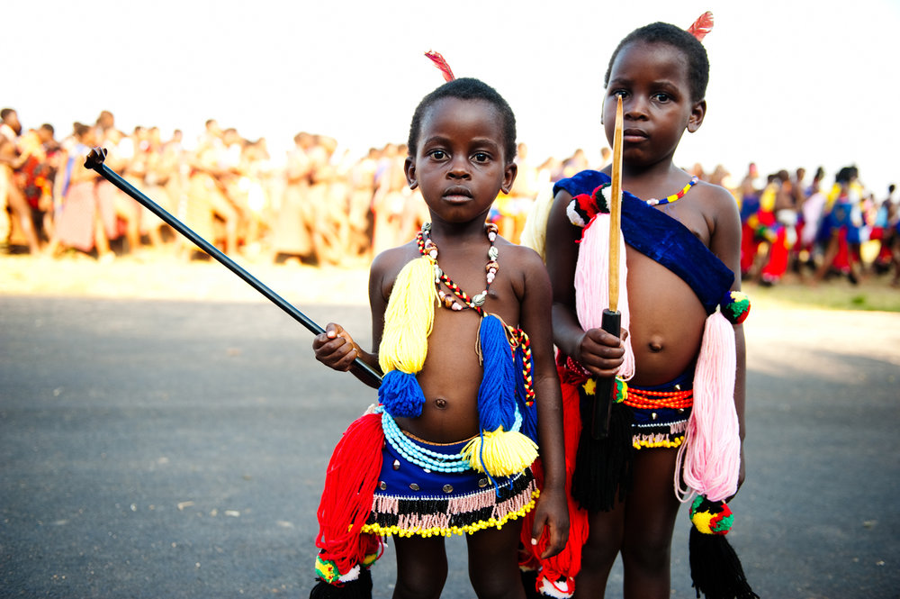 Young Girls, Swaziland (2009)