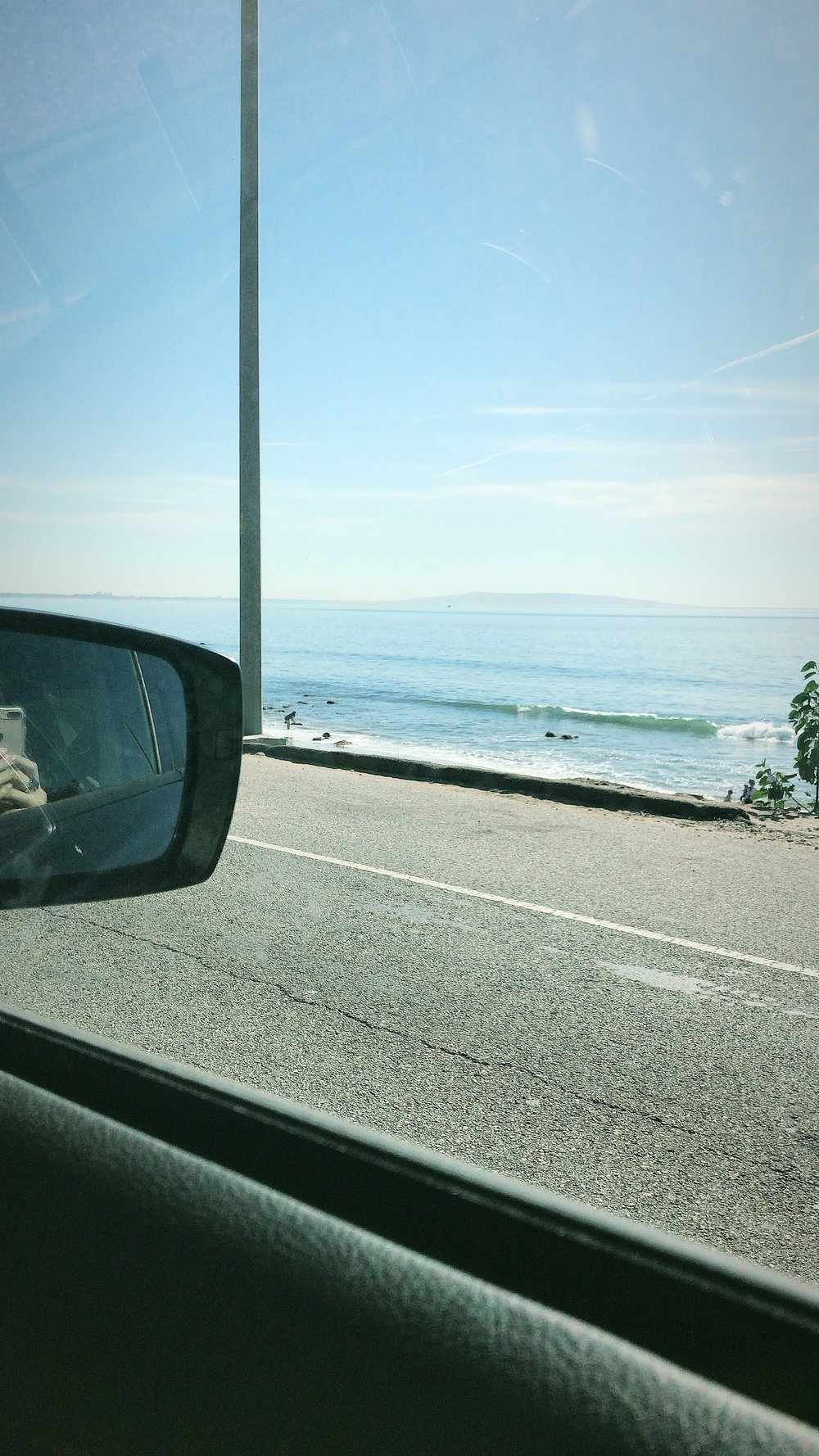 I love our drive to and from Malibu every week. It's the sweetest.