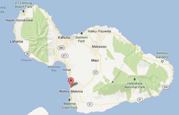 Wailea_Maui_Map