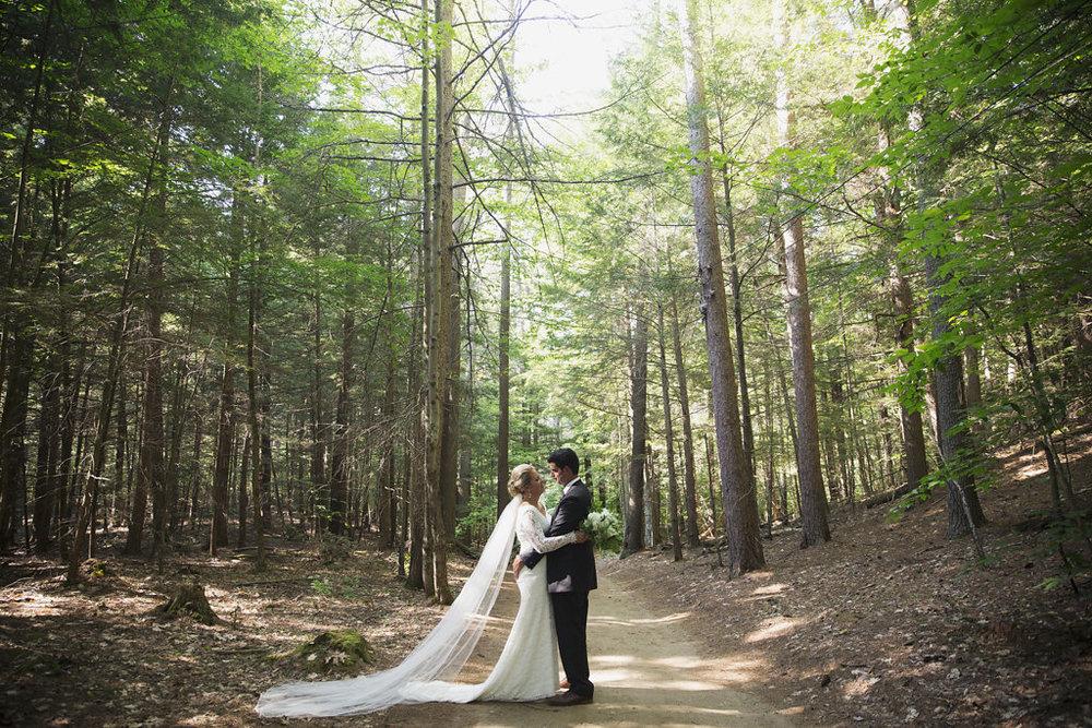 Ashleigh and Matt - Home: New HampshireWedding Destination: Adirondack CampPhotos by Jack Loves Mary Photography