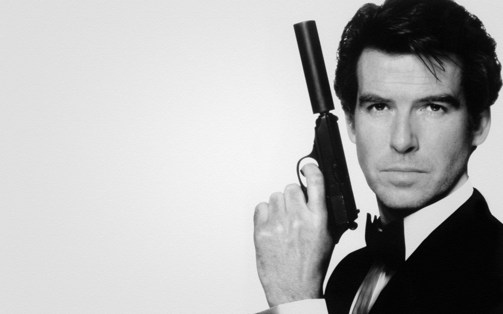 2. Pierce Brosnan - Another casting worthy of deeper discussion. Takes the number two slot because no matter how terrible The World is Not Enough is, Brosnan's performance in GoldenEye cements him as one of the greatest Bonds of all time.