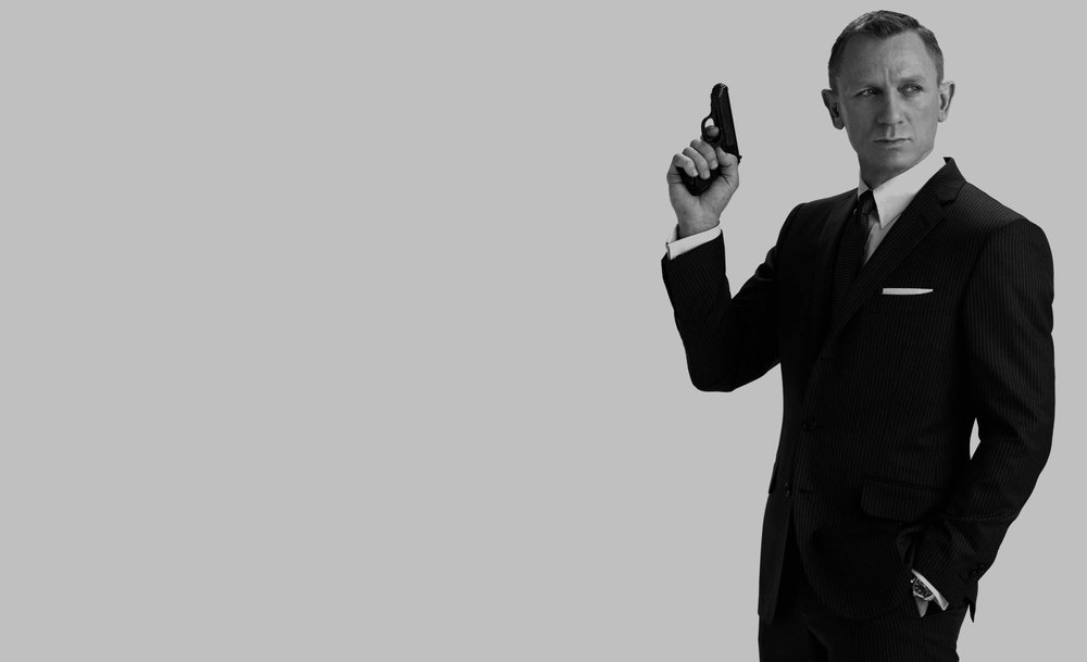 1!. Daniel Craig. - Craig, aside from his hair color, is the living embodiment of Ian Fleming's James Bond. Casino Royal and Skyfall are masterpieces, not only in terms of great direction but also in terms of Craig's performance.