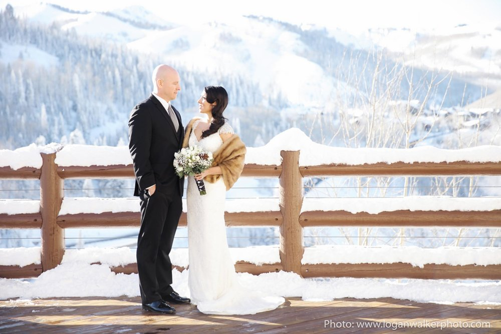 White and Gold Wedding Stein Eriksen Lodge--25.jpg