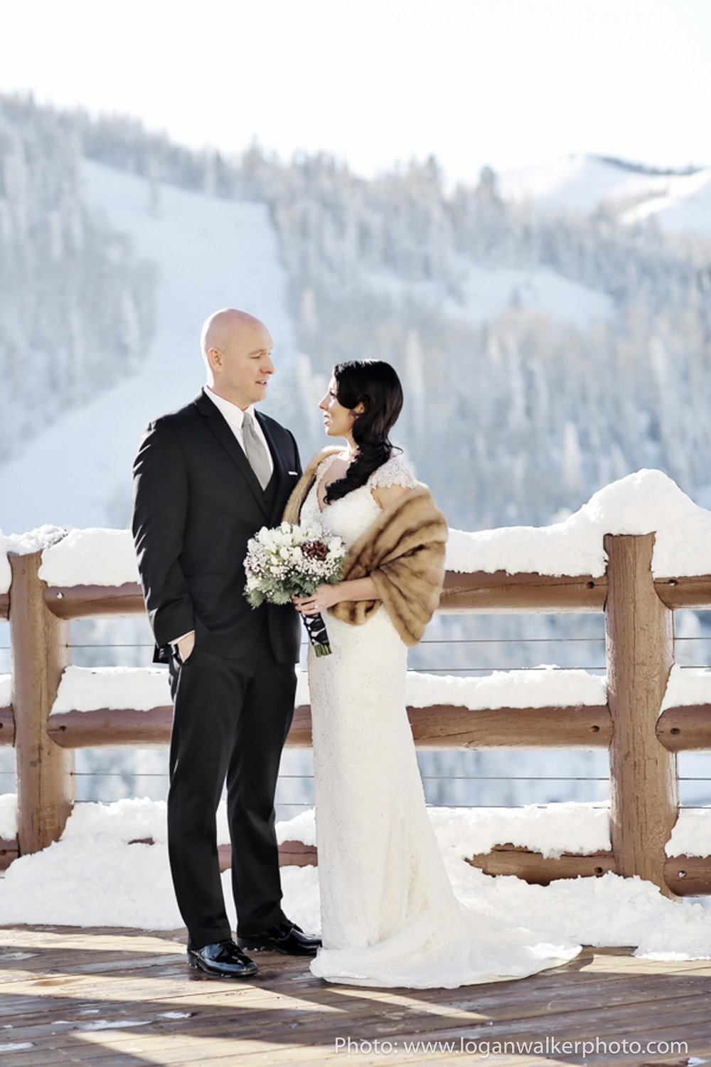 White and Gold Wedding Stein Eriksen Lodge--26.jpg