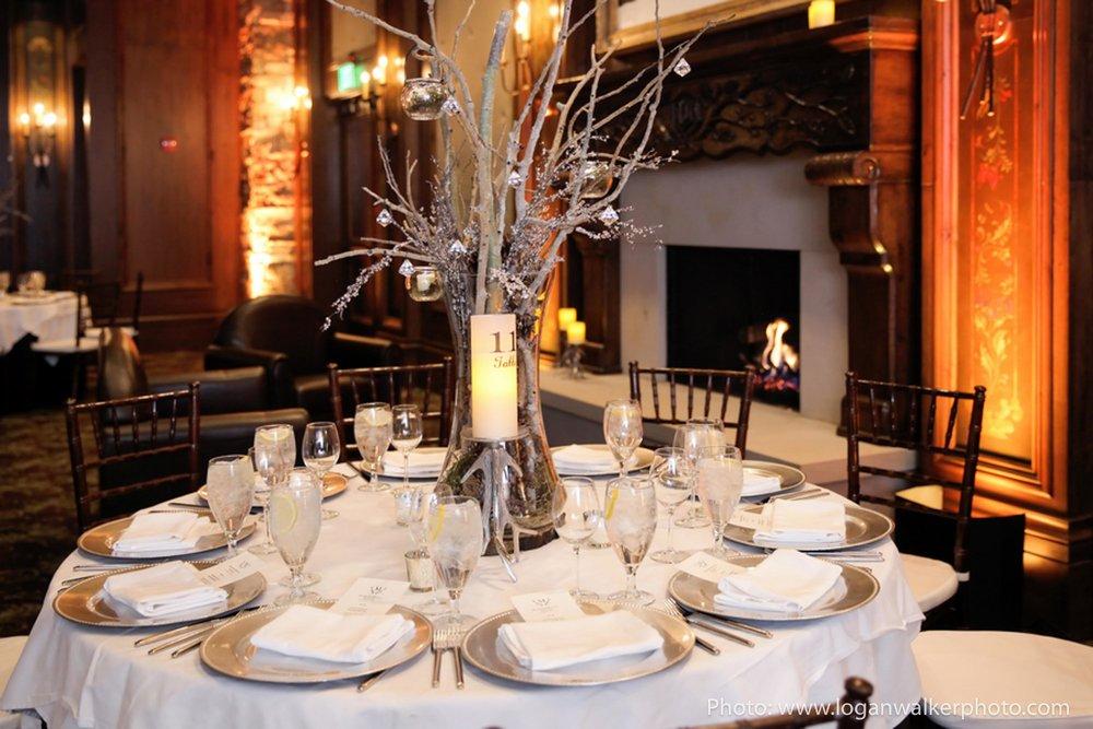 White and Gold Wedding Stein Eriksen Lodge--100.jpg