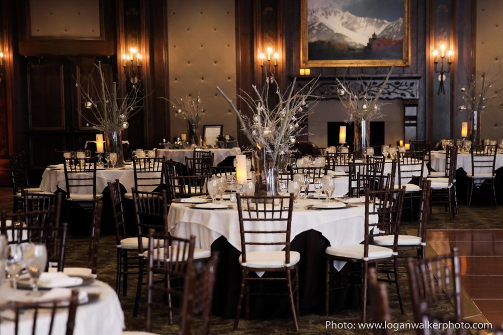White and Gold Wedding Stein Eriksen Lodge--102.jpg