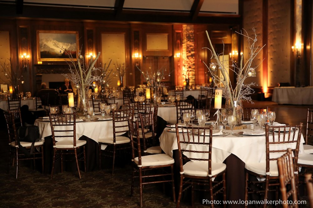 White and Gold Wedding Stein Eriksen Lodge--105.jpg