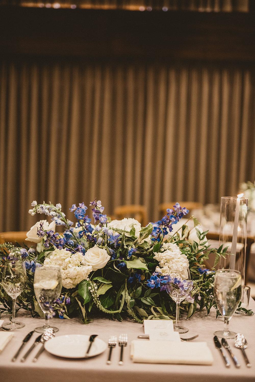 Photo: Roger Ellsworth  Florist: Artisan Bloom  Rentals: Tavolo Rental  Linens: La Tavola Fine Linen