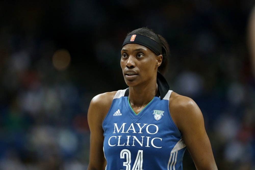 - Sylvia Fowles looked like a demi god out there. In the 3rd quarter she put up 14 points and 5 rebounds.