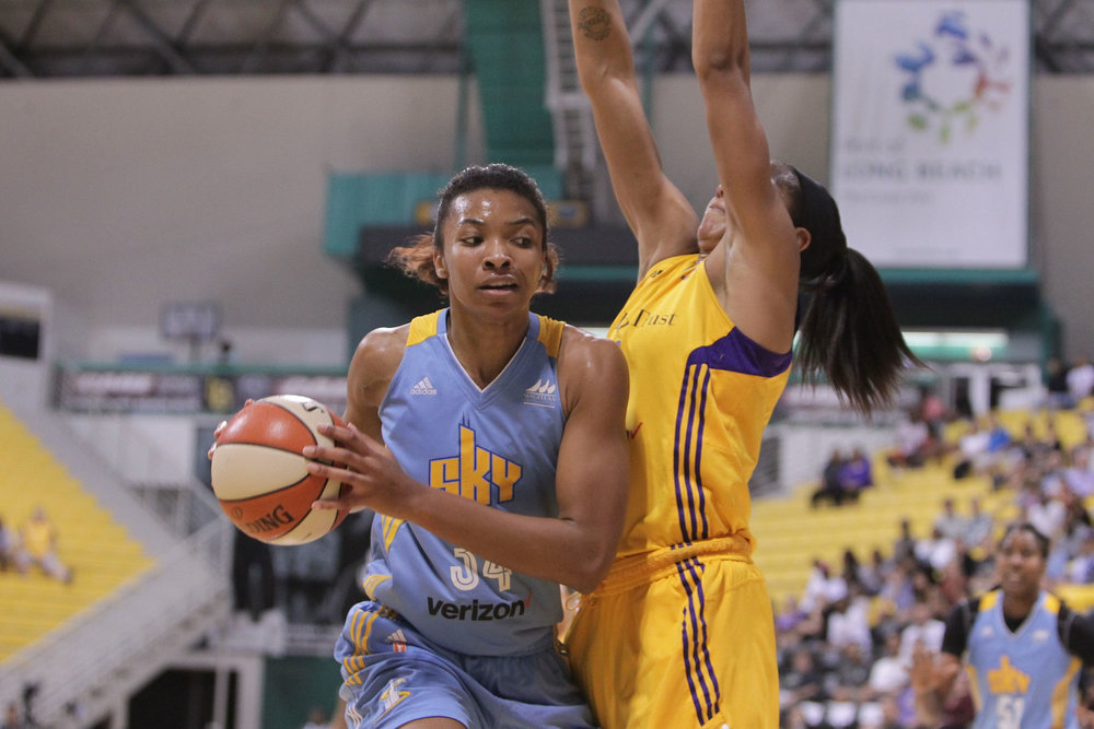 - To the frustration of Sky fans, Imani Boyette and Tamera Young have been traded to the Dream.