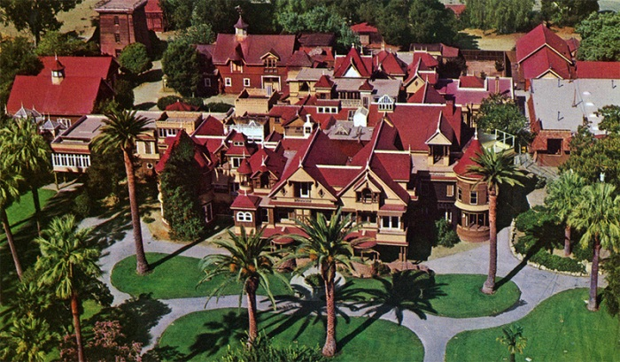 Aerial Photo of the Mansion