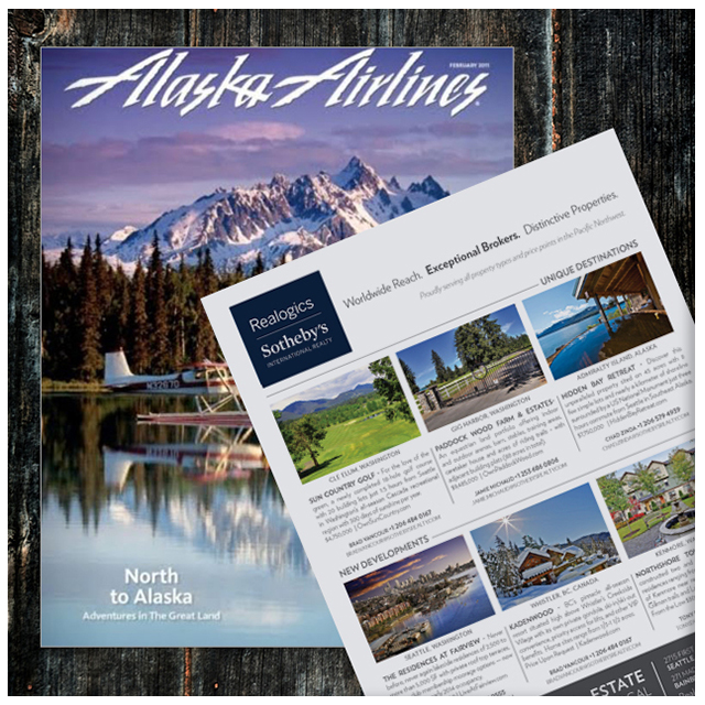 Alaska Airlines - Alaska Airlines Magazine focuses on the people and places of the Alaska Airlines route system, exploring the issues, trends and events that shape these regions. On board Alaska Airlines, the average reader is 49 years of age with an average household income of $103,000 annually. Research shows that Alaska Airlines has a 61% readership, with an average 935,260 monthly readers. The average number of passengers boarding Alaska Airlines per month is estimated at 1,533,213.