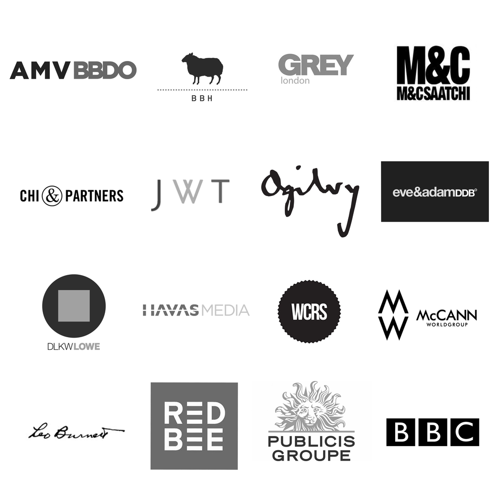 James Radford Music Advertising client list