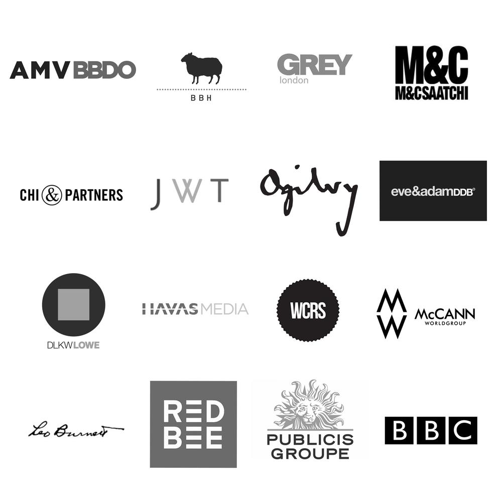 James Radford Music Advertising client list