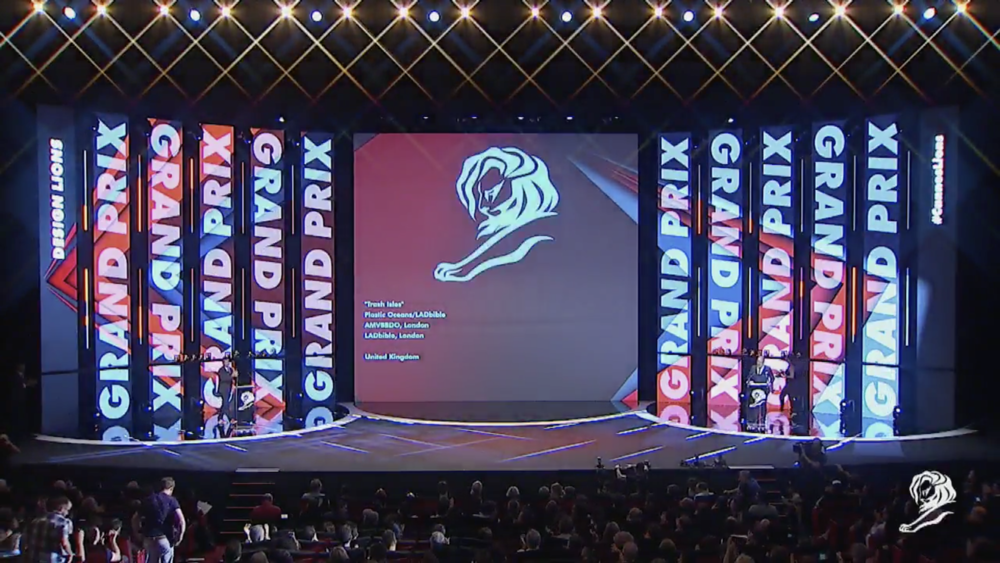 James Radford Cannes Lions Grand Prix