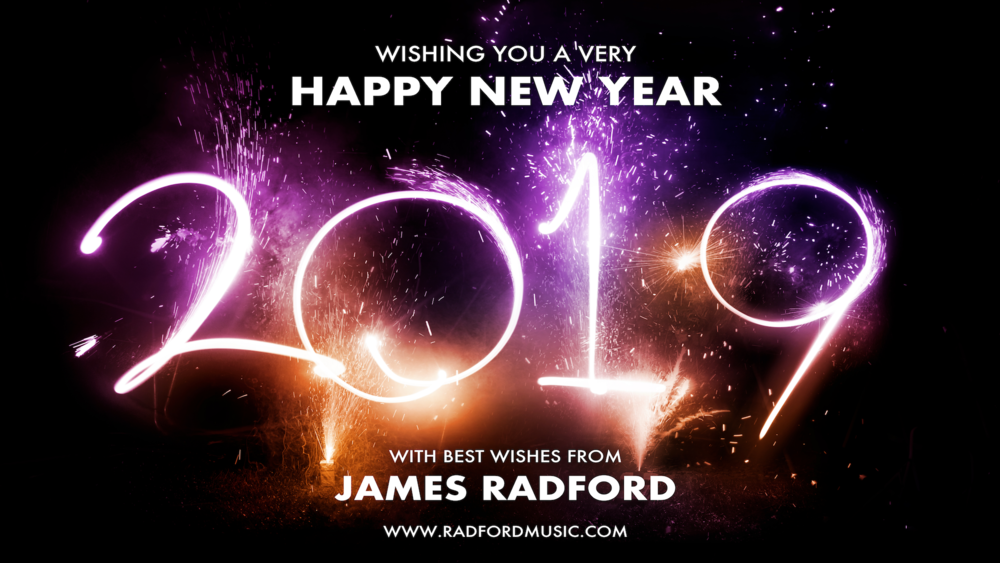 James Radford Happy New Year 2019