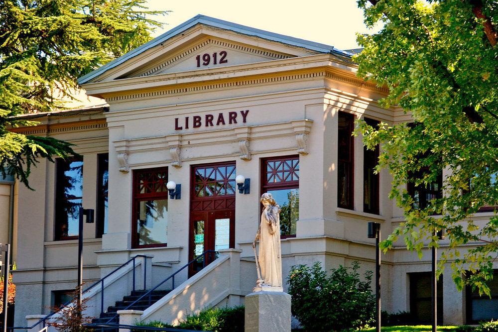 Ashland Library - 410 Siskiyou Boulevard, Ashland, OR 97520 | (541) 774-6980