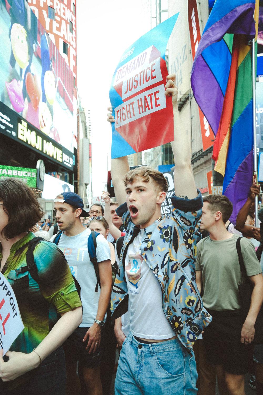 Transgender Military Rally