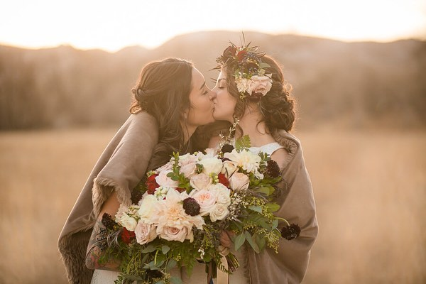 So excited to share some photos from our Styled Photo shoot! I will always hold this wonderful experience close to my heart ❤️. Nothing is better than being able to celebrate love!  Stayed tuned this week to see some more pictures from this photoshoot!  Photography: @erinnicolephotography Planning:@mountainsideevents  Venue: @ristcanyoninn Florals: @wildblossomsstudio Catering:@juliyjuanmx  Cake:@sweetibakery  Furniture rentals: @wallflower_rentals_decor Rentals: @flexxproductions  Stationary: @theprintcafefoco Dresses: @encorebridalfortcollins Hair: @beautybybriannajoy  Makeup: @rebeckabeauty Models: @tylerma11, @hannah_elle  #wedding #colorado #winterwedding #coloradowedding #mountainsideevents #loveislove #samesexwedding #twobrides #brides #weddingdresses #thatsdarling #ristcanyoninn #trianglearch #flowers #outdoorwedding #mountainwedding #coloradoweddingphotographer #coloradoweddingvenue #shesaidyes #ido #fortcollins #fortcollinswedding #weddingplanner #coloradoweddingplanner #justengaged #weddingdiy #ristcanyoninn #weddinginpiration #lgbtwedding #lgbt