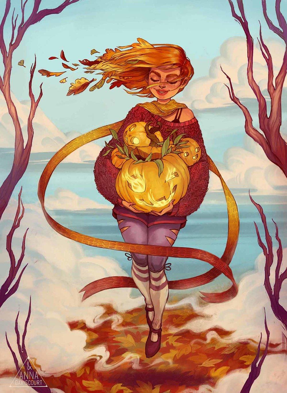 Illustration by Anna Daviscourt .