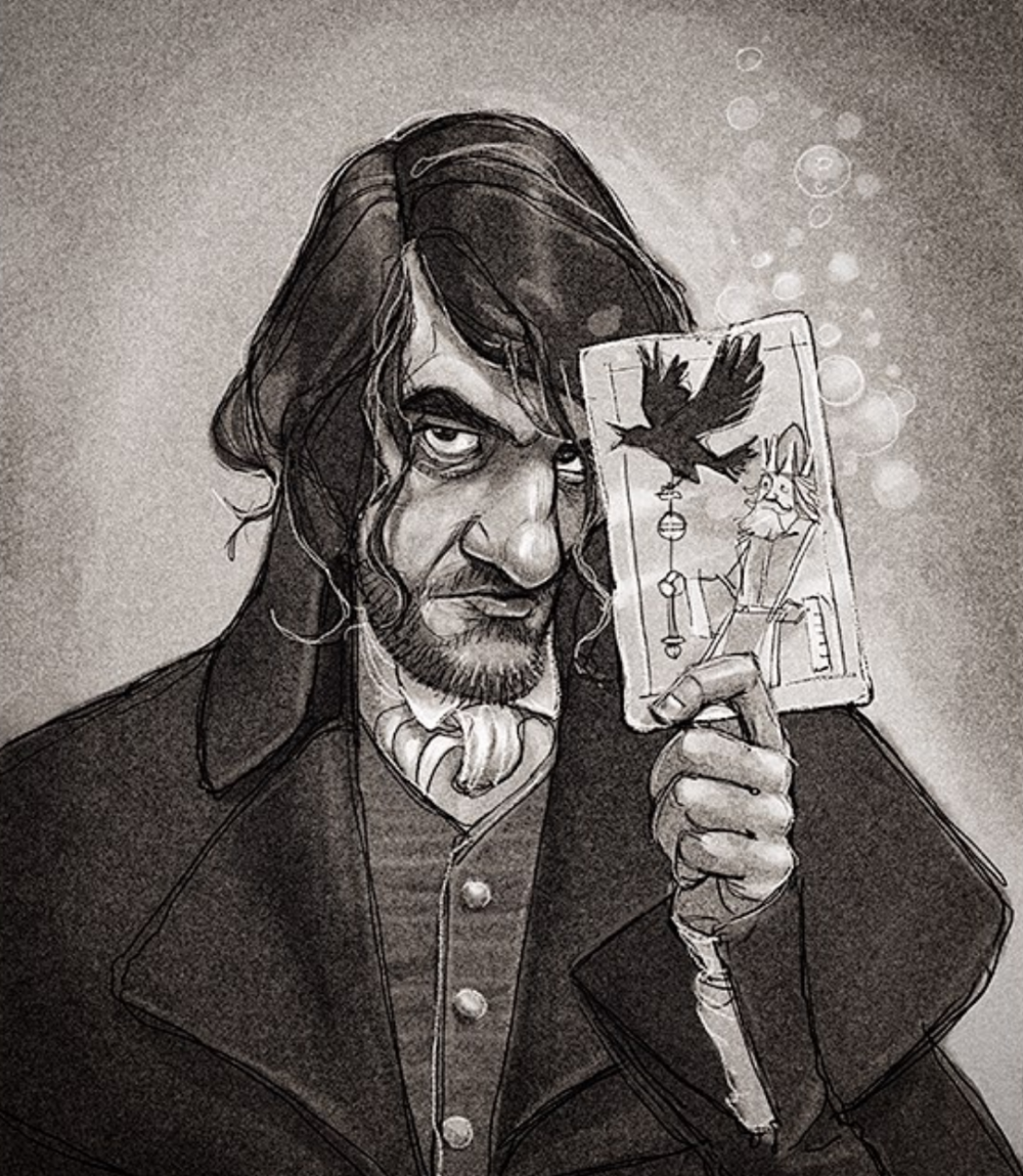 Any Johnathan Strange & Mr Norrell fans out there? Illustration by David Hohn.