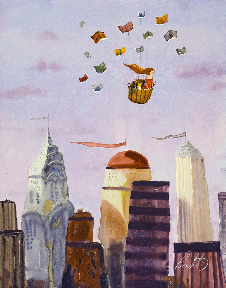 Escape! Illustration by Lee White.