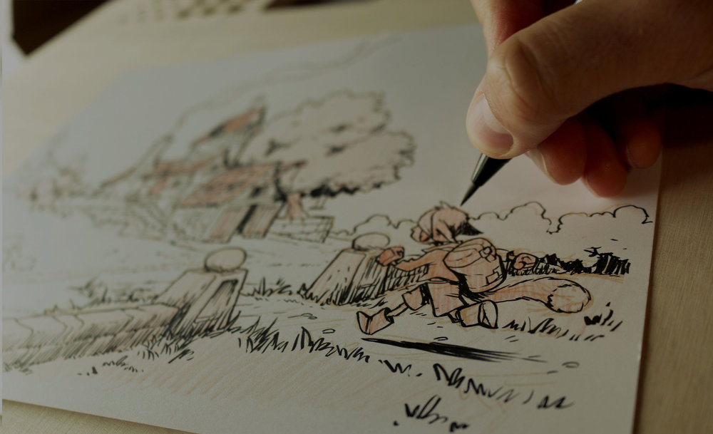 TheDrawing WorkshopPower day - A live workshop that can help you level up in your drawing ability in one day.