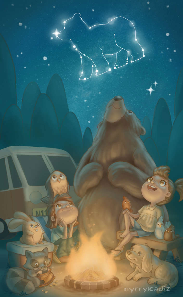 2nd place! Illustration by Nyrryl Cadiz.
