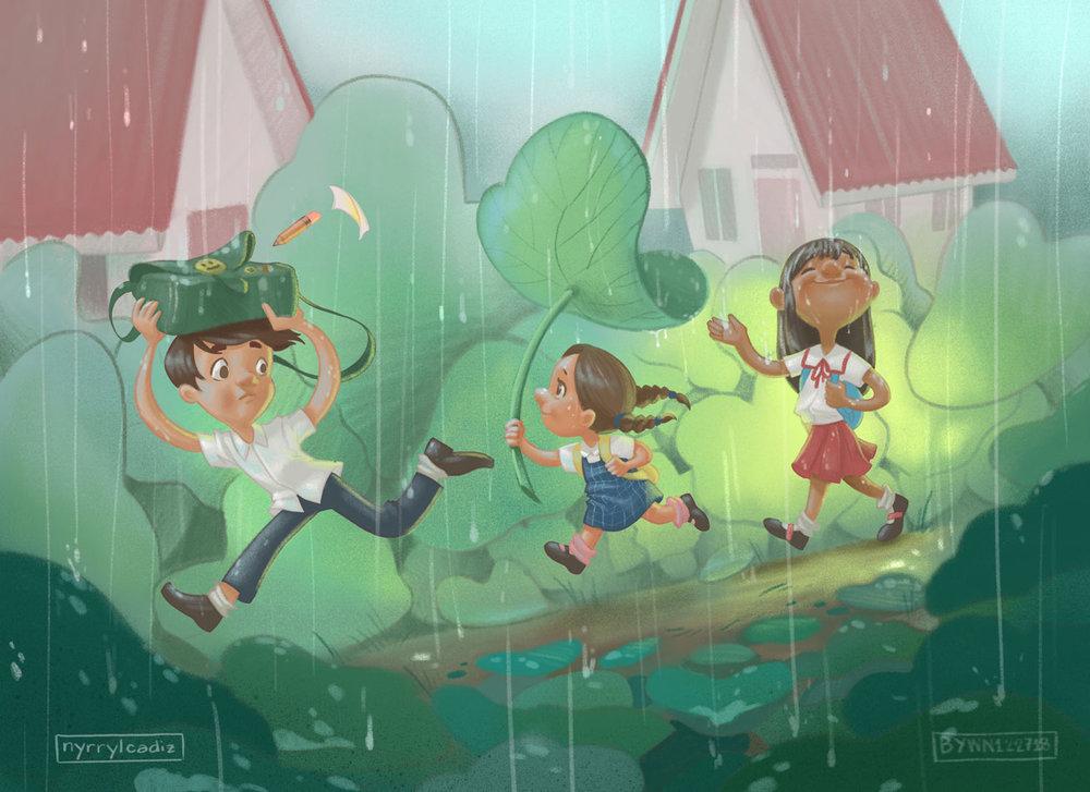 Art by Nyrryl Cadiz!