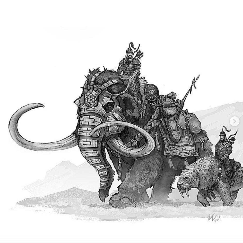 Art by Shaun Michael Keenan!