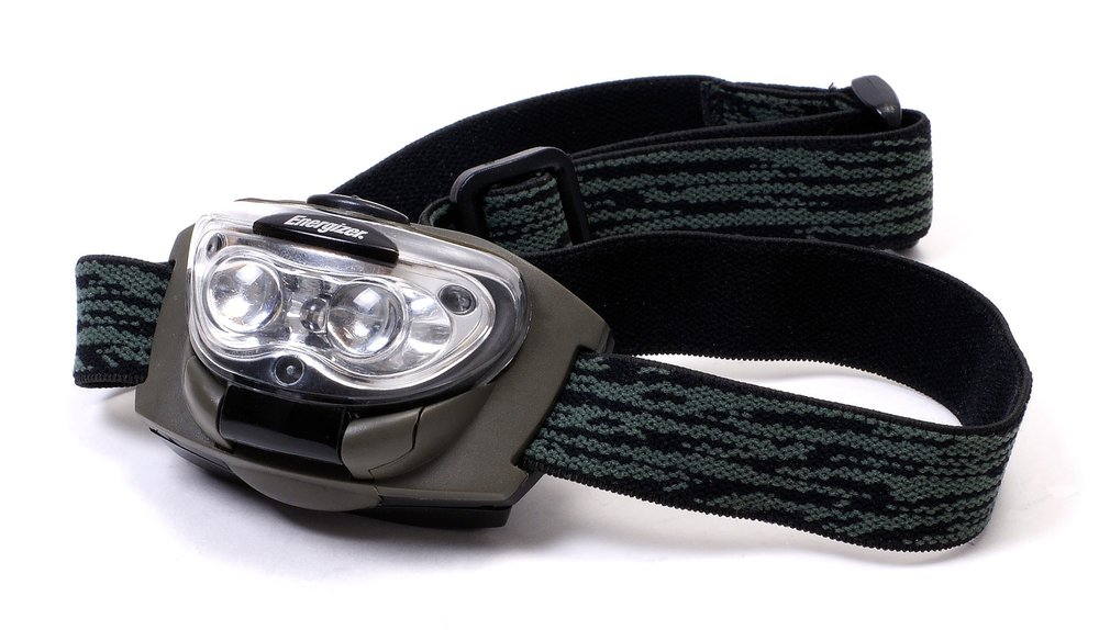 I always carry mine (along with a spare battery for it) in my  Camelback . Even if you're hiking during the day, a headlamp can be useful. Caught in a monsoon and it got dark out of nowhere? Out hiking later (or earlier) than anticipated? Or, just want to explore the nearby cave you just found? Pull out your headlamp and safely explore away.