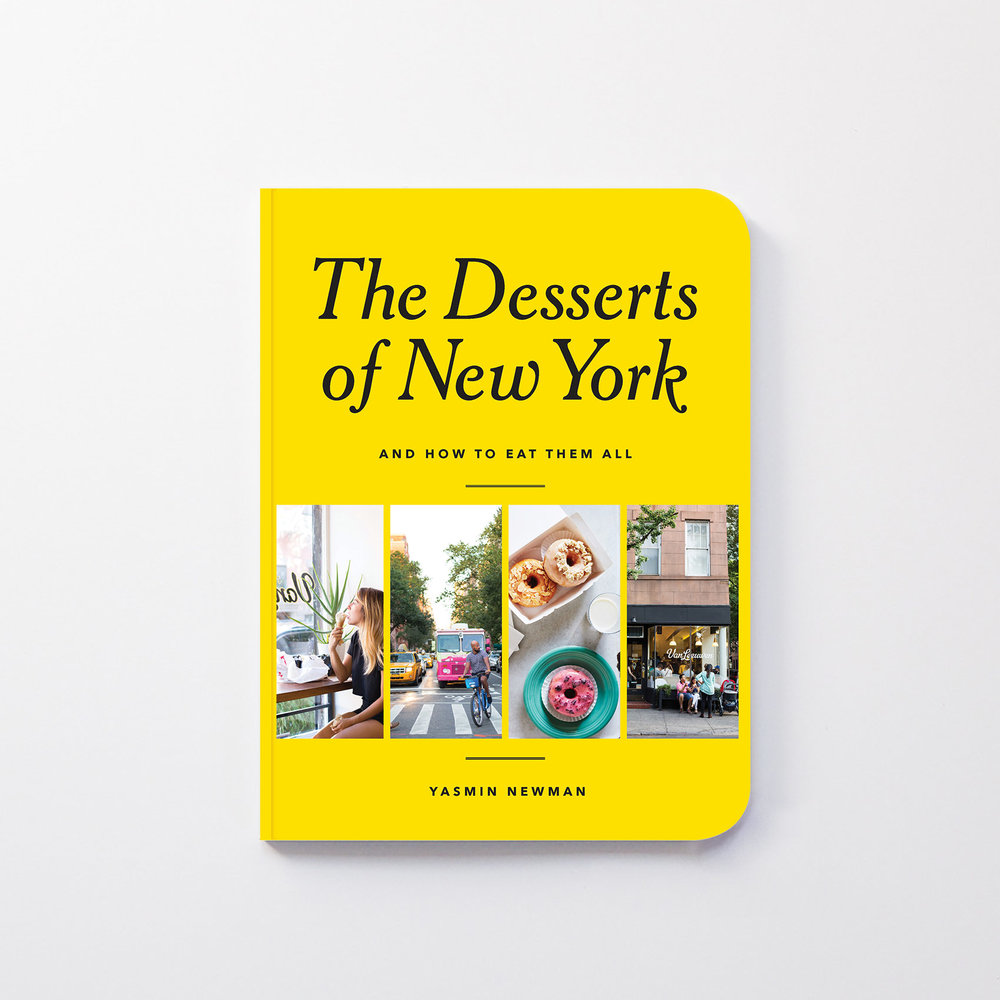 The Desserts of New York cookbook cover