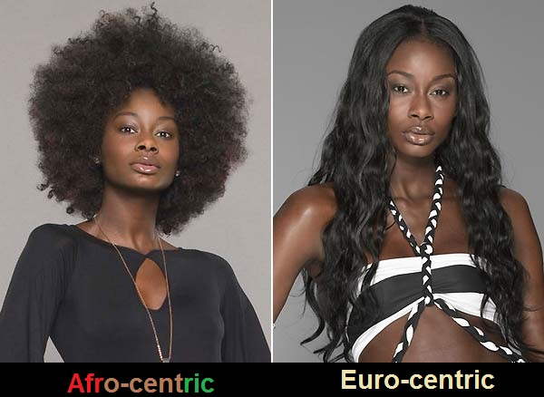 Image result for afrocentric beauty vs eurocentric
